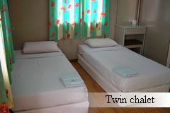 twin chalet
