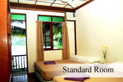 standard room redang beach