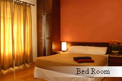 redang beach bed room